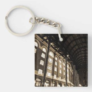 Hays Galleria London Single-Sided Square Acrylic Keychain