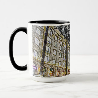 Hays Galleria London Sketch Mug