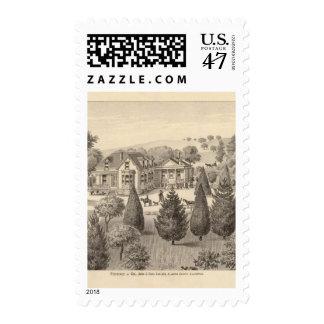 Hays residence, Oakland, Alameda Co Postage