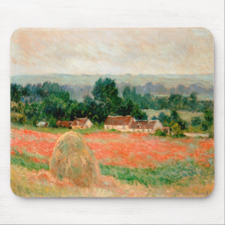 Haystack at Giverny, Claude Monet Mouse Pads