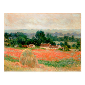Haystack at Giverny, Claude Monet Post Card