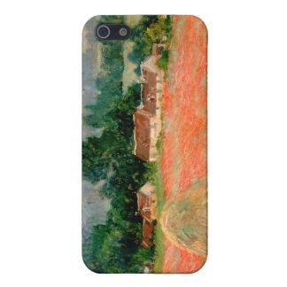 Haystack en Giverny, Claude Monet iPhone 5 Carcasas