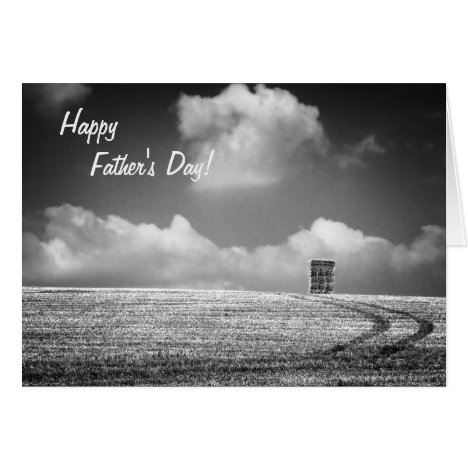 Haystack - Father's Day fine art - Cyclist Card
