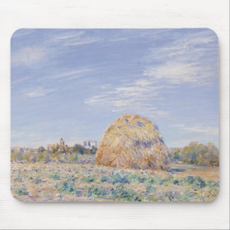 Haystack on the Banks of the Loing, 1891 Mouse Pad