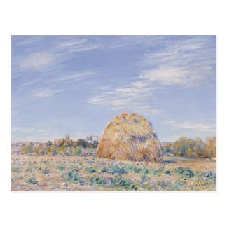 Haystack on the Banks of the Loing, 1891 Postcard