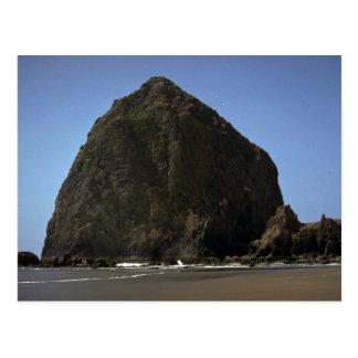 """Haystack"""", Oregon coast rock formation Post Card"""