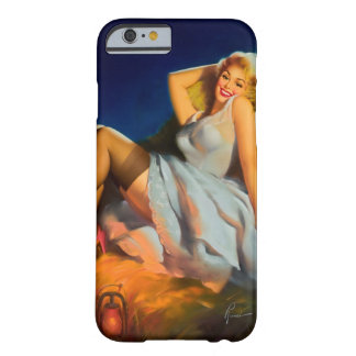Haystack Playmate Pin Up Art Barely There iPhone 6 Case