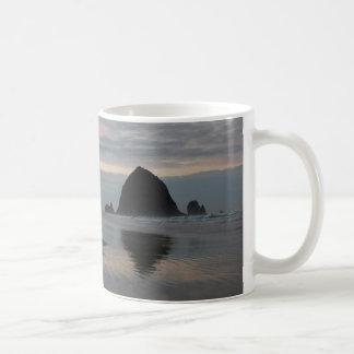 Haystack Rock at Cannon Beach Coffee Mug