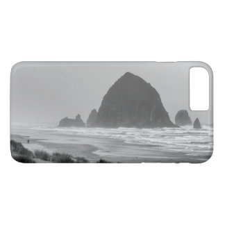Haystack Rock at Cannon Beach iPhone 7 Plus Case