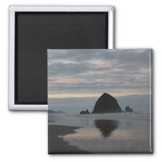 Haystack Rock at Cannon Beach Magnet