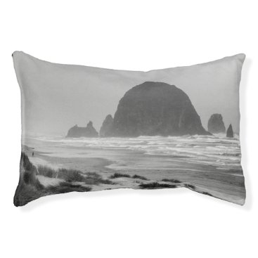 Beach Themed Haystack Rock at Cannon Beach Pet Bed