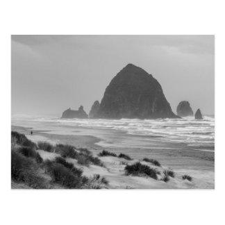 Haystack Rock at Cannon Beach Postcard