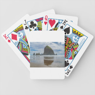Haystack Rock, Cannon Beach, Oregon Bicycle Playing Cards
