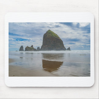 Haystack Rock, Cannon Beach, Oregon Mouse Pad