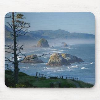 Haystack Rock, Cannon Beach, Oregon Mouse Pad