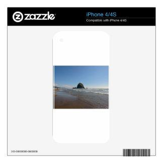 Haystack Rock Decals For iPhone 4S
