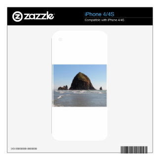 Haystack Rock Skin For iPhone 4S