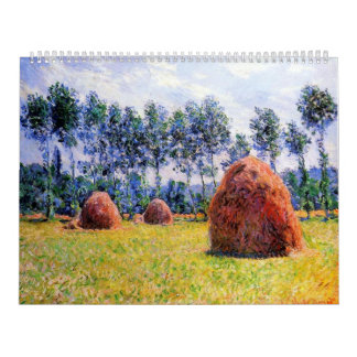 Haystacks at Giverny - Claude Monet Calendar