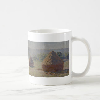 Haystacks at the End of the Summer, M E (1890) Coffee Mug