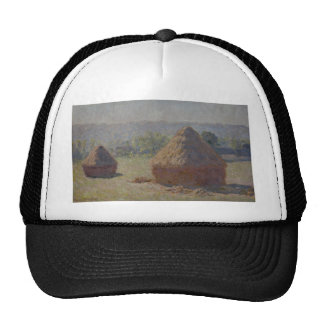 Haystacks at the End of the Summer, M E (1890) Trucker Hat