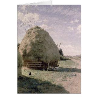 Haystacks Card