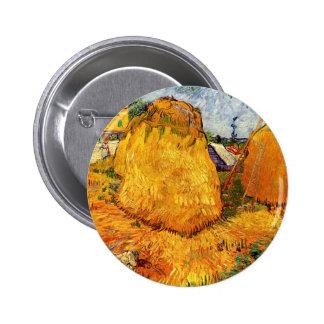 Haystacks de Van Gogh en Provence, arte de la