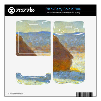 Haystacks in Snow by Claude Monet Skin For BlackBerry Bold