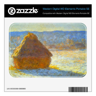 Haystacks in Snow by Claude Monet WD Elements SE Skins