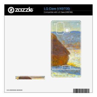 Haystacks in Snow by Claude Monet Decals For The LG Dare