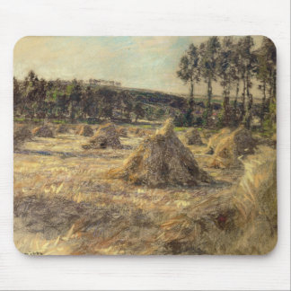 Haystacks in Sunset, 1906 Mouse Pad