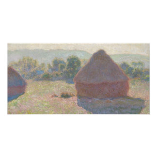 Haystacks, Midday by Claude Monet Card