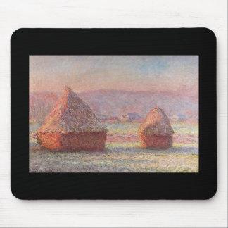 Haystacks- Monet Mouse Pad