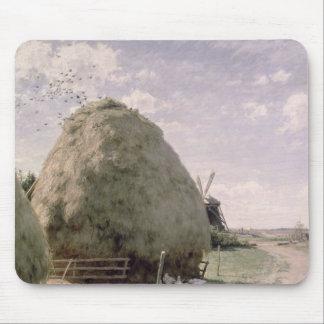 Haystacks Mouse Pad