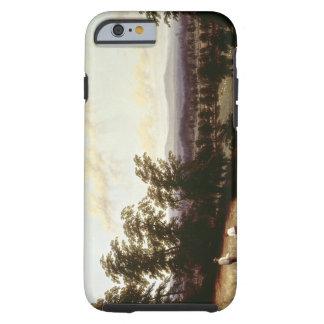 Haystacks near a River, near Harford, Warwickshire Tough iPhone 6 Case