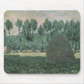 Haystacks near Giverny, c.1884-89 Mouse Pad
