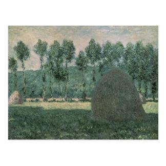 Haystacks near Giverny, c.1884-89 Postcard