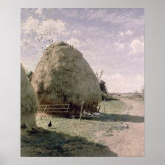 Haystacks Póster