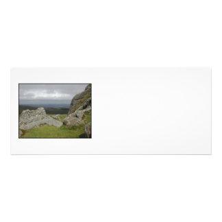 Haytor Rocas en Devon Inglaterra En blanco Invitaciones Personales