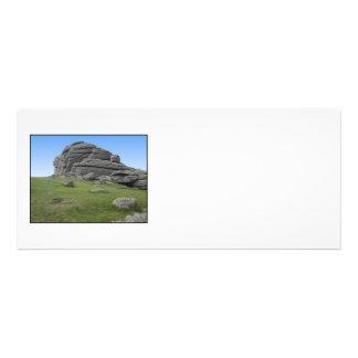 Haytor Rocas en Devon Inglaterra En blanco Invitación