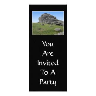 Haytor Rocas en Devon Inglaterra En negro Comunicado Personal