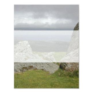 Haytor. Rocas en Devon Inglaterra Anuncio Personalizado