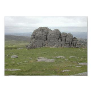 Haytor. Rocas en Devon Inglaterra Comunicados Personales