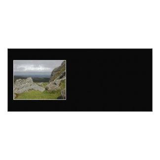Haytor Rocas en Devon Inglaterra Invitacion Personal