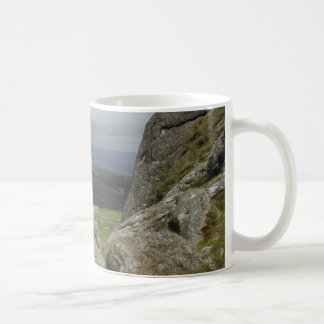 Haytor. Rocks in Devon England. Coffee Mug