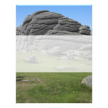 Haytor. Rocks in Devon England. Custom Invitations