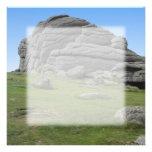 Haytor. Rocks in Devon England. Custom Announcements
