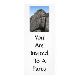 Haytor. Rocks in Devon England. On White. Custom Announcements