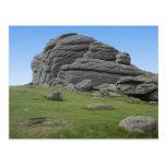 Haytor. Rocks in Devon England. Post Cards