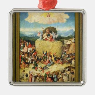 Haywain, 1515 metal ornament