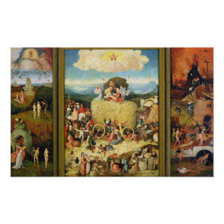 Haywain, 1515 póster